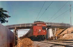 Moorabbin,  November 1975 (High Bicyclist) Tags: train suburban melbourne frankston tait moorabbin