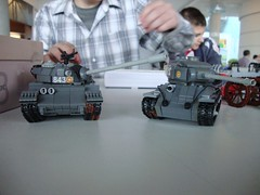 Soviet Power ([Maks]) Tags: war lego military models soviet tanks moc t34 t55