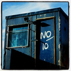 No 10 (ship-shaped and bristol fashion) Tags: blue london guesswherelondon lomoish no10 gwl