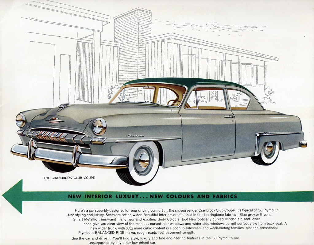 The Worlds Best Photos Of Brochure And Club Flickr Hive Mind 1953 Plymouth Cranbrook Wiring Diagram Coupe Canada Aldenjewell Tags
