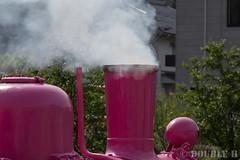 Pink SL at Wakasa Railway (48) (double-h) Tags: sl tottori jnr steamlocomotive c12   eos6d   pinksl wakasarailway  c12 ef100400mmf4556lisiiusm c12167 wakasastation classc12 c12 sl