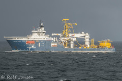 North Sea Atlantic (rjonsen) Tags: blue vertical spread boat ship crane offshore vessel lay tensioner vls