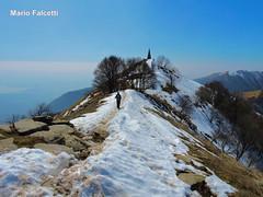 Italy: Colma di Sormano (Como): Monte Palanzone (mariofalcetti) Tags: italy mountain snow landscape italia neve montagna lombardia paesaggio triangololariano montepalanzone