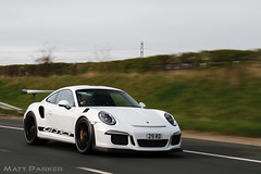 Rolling RS (MJParker1804) Tags: white motion cars driving 911 porsche rs rolling 991 gt3 2016 pdk carporn