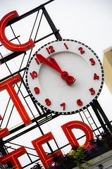 Seattle220714 (2) (Indavar) Tags: seattle street city people fish tower clock harbor place farmers market spaceneedle pike pikeplace fishco pikemarket