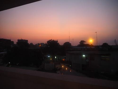 Kinshasa sunset