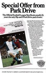 League Football - 1972/73 - Volume 12 - Back Cover Page (The Sky Strikers) Tags: football 12 1972 1973 league fa association volume the 5p