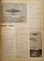 Steampunk airship French story paper (steammanofthewest) Tags: french airship sciencefiction steampunk 1891 dimenovel georgeslefaure