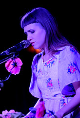 14 Days (Anthony Mark Images) Tags: flowers portrait musician music ontario concert lowlight artist dress singing folk song linen embroidery stage hamilton indiepop singer microphone keyboards performer prettygirl songwriter 14days elsajayne thebaltimorehouse