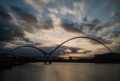 _DSC9795 (adam_reynolds) Tags: bridge sunset water river infinity stockton tees