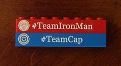 Whose Side Are You On? (ChocoBricks Customs) Tags: lego ironman civilwar custom marvel captainamerica teamcap teamironman