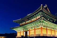 Seoul: Changdeokgung Palace (stuckinseoul) Tags: city beautiful night asian evening photo asia tour capital palace korea korean photograph u seoul moonlight kr southkorea changdeokgung    seoulkorea republicofkorea i canoneos6d flickrseoul sigma2470mmf28exdghsm iseoulu