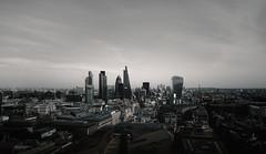 Fort apocalypse (E) (Panda1339) Tags: uk light panorama london skyline architecture skyscraper stpauls gherkin liverpoolstreet apocalyptic walkietalkie cheesegrater