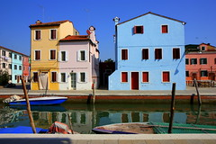 Houses in Burano (annalisabianchetti) Tags: houses urban colors cityscapes burano veneto