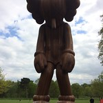 Amazing Kaws sculpture