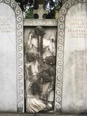 Grave Detail, ale Cemetery, Ljubljana, Slovenia (Wiebke) Tags: ljubljana slovenia europe vacationphotos travel travelphotos ale alecentralcemetery cemetery centralnopokopalieale pokopalie beigrad bezigrad