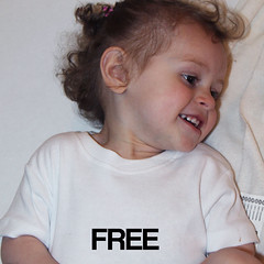 free babygrow (rethinkthingsltd) Tags: baby white smart children design kid diverse adult unique free tshirt parry pride southern lgbt statement strong local northern fit typographic able ilsa rethinkthings