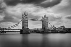 Tower Bridge (Minas Stratigos) Tags: bridge sky bw london tower long exposure minas sony vision filter nd gradient drama xposure a7rii stratigoseu