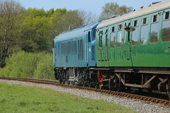D182 Corfe Castle (daveymills31294) Tags: castle diesel railway class corfe gala swanage 46 2016 46045 d182