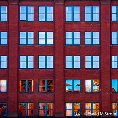 Saint Paul Reflections (David M Strom) Tags: pattern abstract architecture minimal colors olympusomdem5 reflections saintpaul