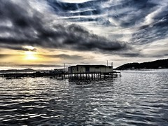 Morning zen.... (laurent Showl20) Tags: morning blue sea sun france nature water boat depart zen bateau maison parc moule navigation toulon mediterranee