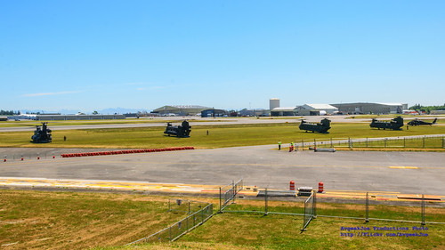 FIVE Special Ops Choppers at Paine Field