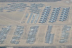 IMG_2326 Tucson AZ - DM AFB - boneyard, AMARC east side (colinLmiller) Tags: tucson airplanes boneyard windowseat afb davismonthan amarc 2016