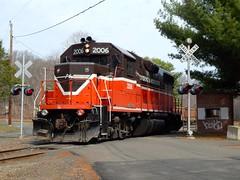 Providence & Worcester GP38-2 #2006 (thomas_lenhart) Tags: gp382 providenceandworcester
