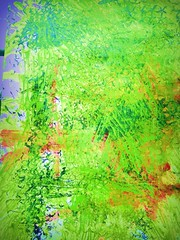 Modern art exhibition (april-mo) Tags: art modern modernart abstract abstractmodernart school artschool exhibition artexhibition colors green