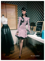 "Never Ordinary Lillith (Fashion Royalty Lj - ""Bringing Dolls To Life"") Tags: diorama 16scale nuface ljdiorama neverordinarylillith dagaomo"