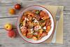 Tomatoes apricot salad (Akane86) Tags: summer fruit tomato salad healthy tomates fruta verano apricot salat ensalada albaricoques