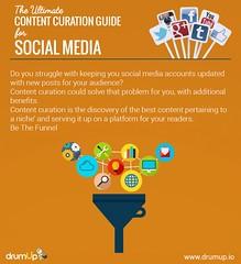 Content Curation for social media (Social Media & Content Curation Platform) Tags: marketing media flat internet content social statistics process articles videos infographic curation mediamarketing contentmarketing contentcuration designdrumup