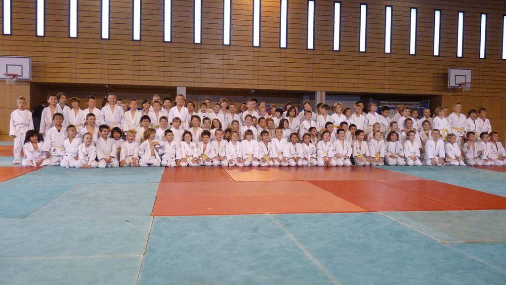 Tournoi judo Rocbaron pré-poussins
