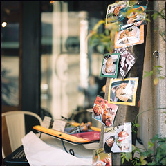 *Afternoon tea break (niko**) Tags: 120 film zeiss mediumformat fuji hasselblad yokohama motomachi   500cm 66 nont planarc80mmf28 pro400n