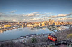 Sunny day over the Duquesne Incline in Pittsburgh HDR (Dave DiCello) Tags: beautiful skyline photoshop nikon day pittsburgh cloudy tripod christmastree northshore bluehour nikkor hdr highdynamicrange pncpark incline pittsburghpirates cs4 duquesneincline steelcity photomatix beautifulcities yinzer cityofbridges tonemapped theburgh pittsburgher colorefex cs5 beautifulskyline d700 thecityofbridges pittsburghphotography davedicello pittsburghcityofbridges steelscapes beautifulcitiesatnight hdrexposed picturesofpittsburgh cityofbridgesphotography
