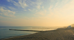 Baltic Sea at dawn (Gladly Beyond) Tags: beach pen germany dawn olympus balticsea olympuspen omd 1250 zingst em5 microfourthirds worldofpen