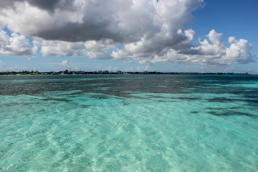 Vue de Cable Beach - Nassau, Bahamas