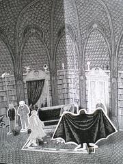 Edward Gorey's Dracula: Dr Seward's Library Scene (psychocandy65) Tags: halloween paper toy play theatre puppet vampire gothic dracula horror edwardgorey
