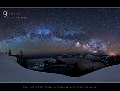 Beyond the Rim (Goldpaint Photography) Tags: milkyway craterlakenationalpark earthandspace Astrometrydotnet:status=failed lyridsmeteorshower competition:astrophoto=2012 Astrometrydotnet:id=alpha20120411115425