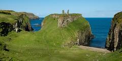 Dunseverick Castle Ruin (Deirdre Gregg) Tags: ocean ireland sea castle coast nikon ruin northernireland causeway d800 ballintoy dunseverick