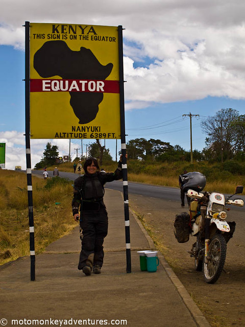 Long before we hit the outer city ring of Nairobi we were already crammed between hundreds of cars travelling at five kilometres per hour. This was going to be a killer for the bike. I could not only feel the temperature rising from under my motor...