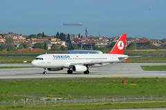 Turkish Airlines Airbus A320-232 TC-JPE Yozgat (EK056) Tags: airport istanbul airbus airlines turkish atatrk a320232 yozgat tcjpe