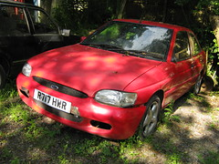 AUGUST 1997 FORD ESCORT 1800 GTI R717HWR (Midlands Vehicle Photographer.) Tags: ford august 1997 1800 gti escort r717hwr