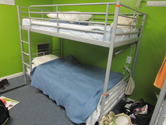 Dorm room bunk beds at Apple Hostel of Philadelphia (RYANISLAND) Tags: travel usa philadelphia america hotel hostel bed beds motel backpacking american hotels traveling bunkbed backpacker oldcity bunk motels hostels bunkbeds doublebed bunks greenwall affordable greenwalls greenpaint doublebeds oldcityphiladelphia