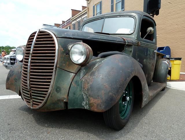 ohio lebanon truck hotrod streetrod ratrod 1938fordpickuptruck