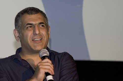 Director Mani Haghighi at a screening of Modest Reception, Cineworld Edinburgh