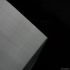 Demure Geometry (Maria Sciandra) Tags: abstract black square line minimalism pinstripe mtsciandra mariasciandraphotography