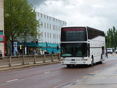 DIB 2061 (markkirk85) Tags: new bus ex buses birmingham flight torch national western olympic van peterborough relay toa 2012 vanhool 2061 hool dib eastcliff t818 starcruiser 61983 dib2061 toa727y 727y