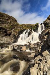 Welcombe Mouth Falls (TwentyOne9) Tags: southwest beach clouds coast waterfall rocks devon waterfalls northdevon welcombemouth