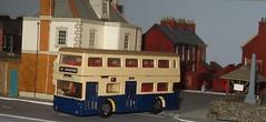 Fleetline BCT (Bandsman1) Tags: bus model birmingham diarama matchbox fleetline diecast dms repaint code3 oogauge 176scale counbourne